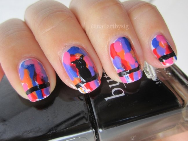 Nail Art How To Dripping Paint By Sig