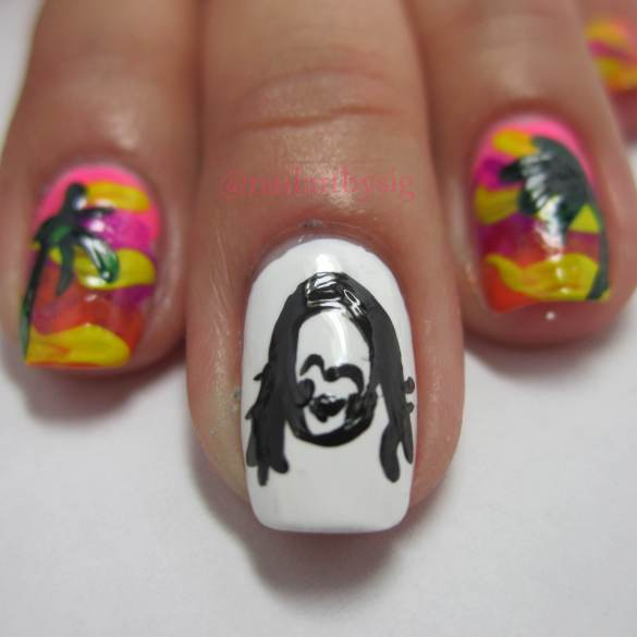 Steve-Aoki-Nails-Aokied-Nail-Art