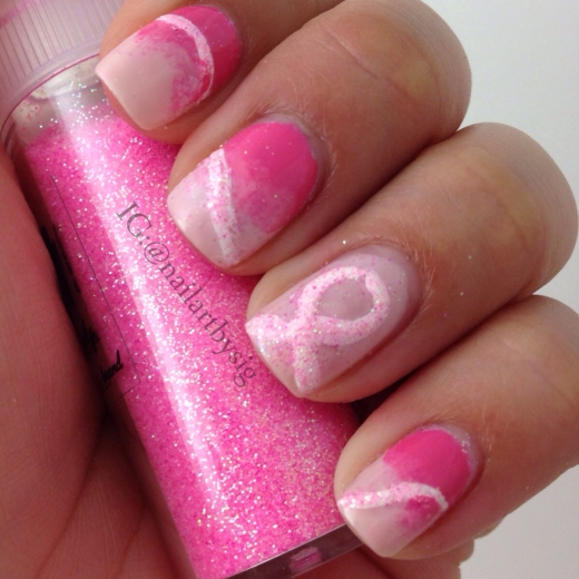 pink-nails-breast-cancer-awareness-month