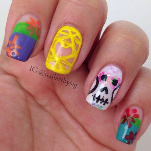 dia-de-los-muertos-nail-art