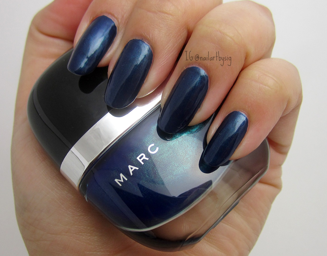 Blue Velvet by Marc Jacobs Nail Polish Swatch | By Sig