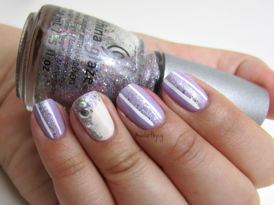 glitzy-striped-nails