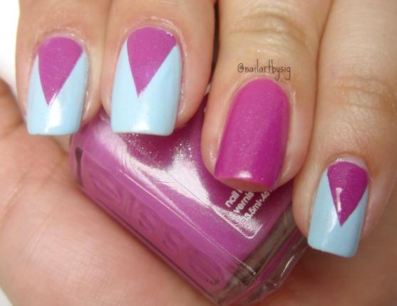 deep-v-chevron-manicure